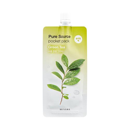 Kết quả hình ảnh cho pure source pocket pack missha green tea