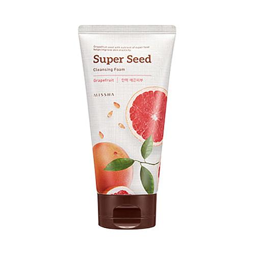 Znalezione obrazy dla zapytania MISSHA Super Seed Cleansing Foam green tea