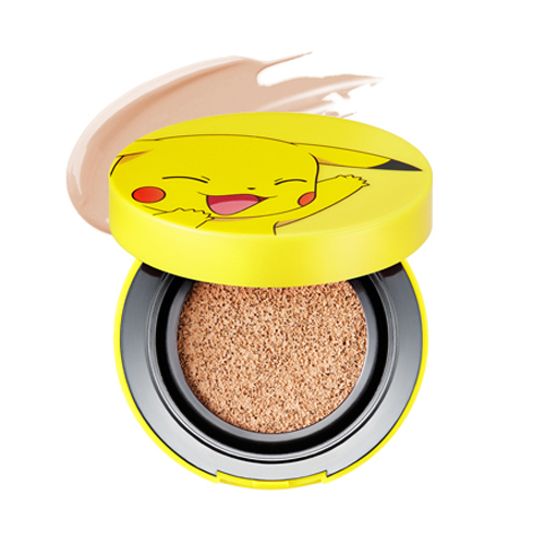 [TONYMOLY] Pikachu Mini Cover Cushion (Pokemon Edition) - 9g